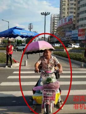 这些东海人因违反交通法则被曝光 看看有没