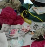 东海环卫大妈捡到16万元财物主动送交派出所