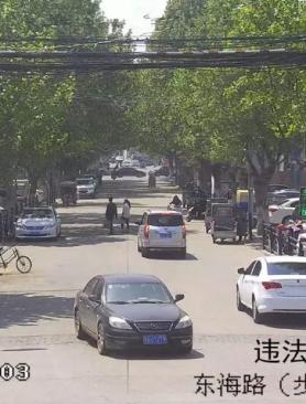 这些机动车因违反交通法规被东海警方曝光!