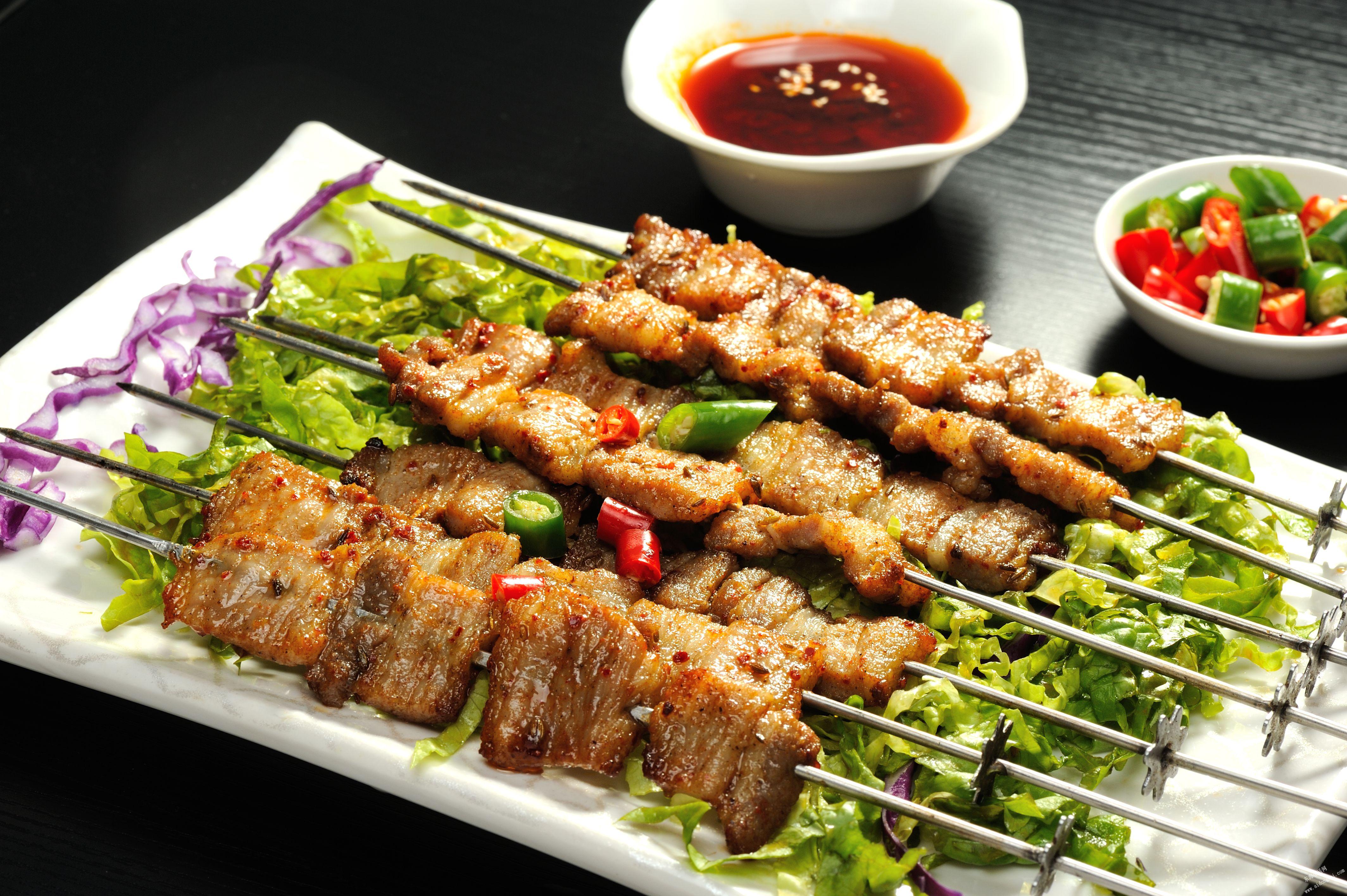 脆皮烤五花肉-烤功夫特色烧烤,集火锅 香锅 烤鱼一体