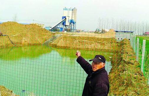 安峰毛南村境内有人违法占地 安峰国土你们管么?