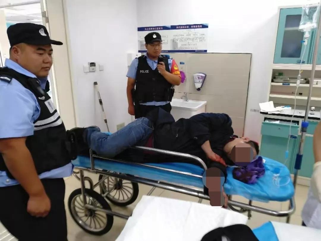 東海一中年男子不慎被切割機切傷手臂,危機時刻...