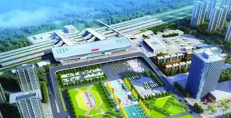 东海高铁站开始招标!预计2020年10月31日竣