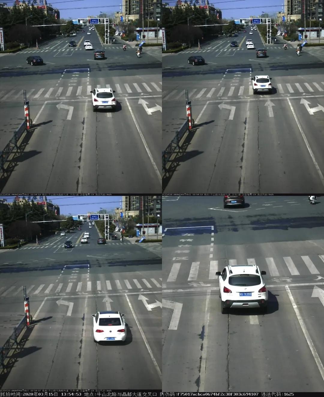 东海又一批机动车闯红灯被曝光!看看有你认识的吗?