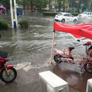 大东海期待已久的大雨最终来了,可你知道哪里的雨下的最大嘛??